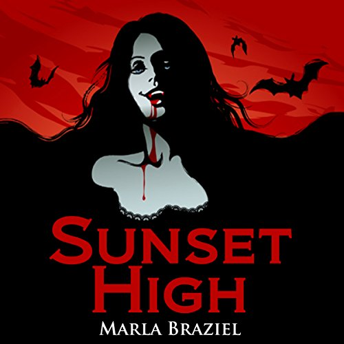 Sunset High audiobook cover art