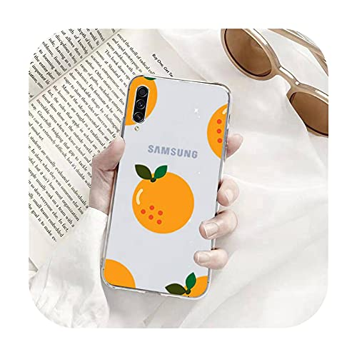 Sweety lindo verano fruta teléfono casos transparente para Samsung A71 S9 10 20 HUAWEI p30 40 honor 10i 8x xiaomi note 8 pro 10t 11-a5-huawei p inteligente 2019