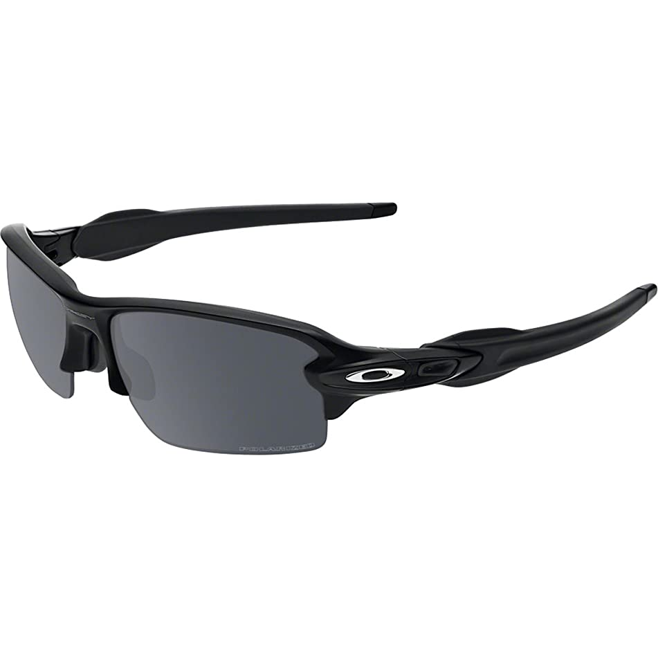Oakley Men's Flak 2.0 OO9295 Polarized Iridium Rectangular Sunglasses