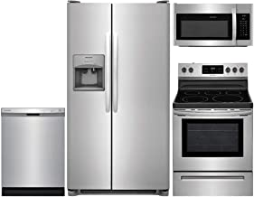 Frigidaire 4-Piece Stainless Steel Kitchen Package with FFSS2615TS 36