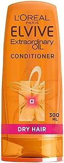 [Elvive] ロレアルElvive臨時オイルドライヘアコンディショナー300ミリリットル - L'oreal Elvive Extraordinary Oil Dry Hair Conditioner 300Ml [並行輸入品]