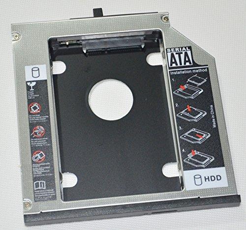 Deyoung 2nd HDD SSD Hard Drive Caddy Adapter for Lenovo Thinkpad T420 T420i T430 T430i T510 T510i T520 T520i T530 T530i W510 W520 W530 R400 R500 W700 W700ds W701 W701ds (R400)