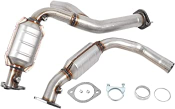 Exhaust Manifold Catalytic Converter Fit for 2007 2008 Chevrolet Avalanche Silverado 1500 Suburban 1500 Tahoe Sierra 1500 Yukon 1500 , Stainless Steel Catalytic Converter Replacement EPA Compliant