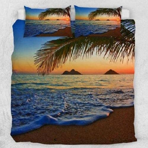 DOAN Sunset SEA Quilt Bed Set Suitable for unisex - 35% OFF Seasons All