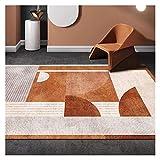 Tapis doux d'intérieur Moelleuses Petits tapis 5.2' x7.5' moderne Tapis intérieur for Chambre Salon Home Décor Tapis Pour la décoration de bureau à domicile (Color : B, Taille : 3.9' x5.2')