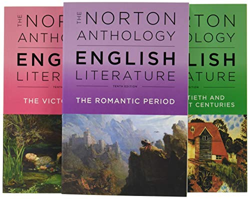 Compare Textbook Prices for The Norton Anthology of English Literature Tenth Edition ISBN 9780393603132 by Greenblatt, Stephen