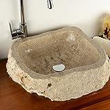 Divero Waschschale Marmor - 5