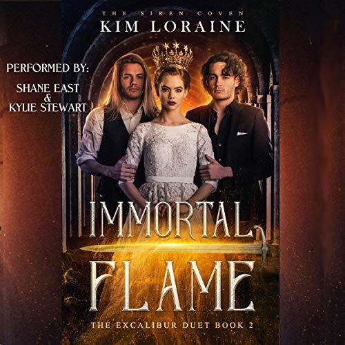 Couverture de Immortal Flame: The Excalibur Duet 2