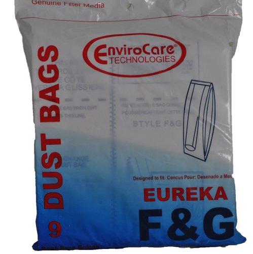 EUREKA Style F & G Vacuum Bags, 9 Per Pack