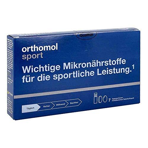 orthomol sport Trinkfläschchen/Tabletten/Kapseln, 7 St. Portionen