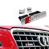 BolLAER S Line griglia anteriore auto distintivo emblema styling per A1/A3/A4L/A5/Q5, decorazione auto S Line