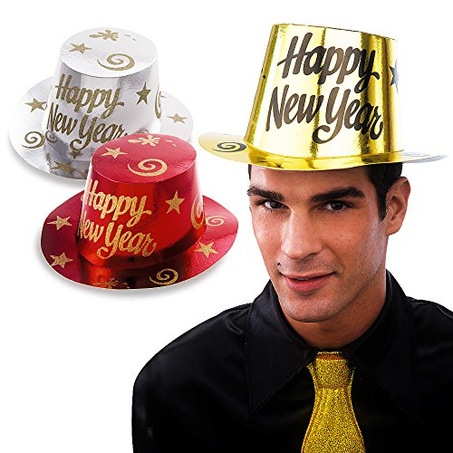 Carnival Toys Chapeau 4444–Papier Happy New Year