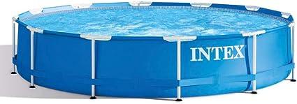 Ø 366cm Höhe 76cm ohne Pumpe Schimmbecken Intex Easy Pool Aufstellpool rund