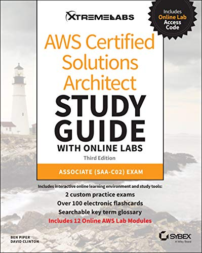 Compare Textbook Prices for AWS Certified Solutions Architect Study Guide with Online Labs: Associate SAA-C02 Exam 3 Edition ISBN 9781119819479 by Piper, Ben,Clinton, David