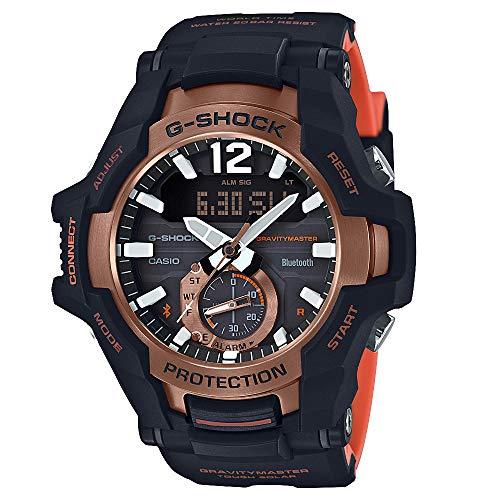 Casio G-Shock Reloj para hombre con esfera gris de cuarzo GRB100-1A4