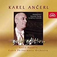 Ancerl Gold Edition 36: PROKOFIEV Alexander Nevsky; Symphony-Concerto for Cello by WOLFGANG AMADEUS MOZART (2004-11-30)