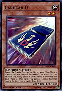 Yu-Gi-Oh! - Cardcar D (THSF-EN044) - The Secret Forces - 1st Edition - Super Rare