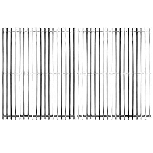 Hongso 17 inch Solid SS 304 Stainless Steel Gas Grill Grids Grates Replacement for Home Depot Nexgrill 720-0830H, Kenmore and Uniflame Gas Grills, Set of 2 (SCA192) (Renewed)