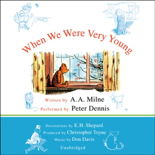 When We Were Very Young audiobook cover art
