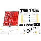 Fréquence de comptage Kit, Fréquencemètre Kit, Oscillateur Kit DIY, Oscillateur Kit testeur, 1Hz-50MHz Fréquence de comptage Kit de commande électronique