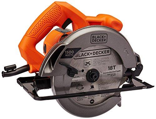 Black+Decker Sierra Circular 7-1/4 Pulgadas 1,500W