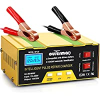 Outerman 12V/24V 10A Automatic Smart Battery Charger