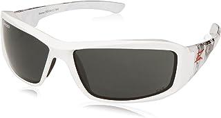 Edge Eyewear TXB246-C2 Brazeau Velocity 2 Polarized Smoke Lens, White