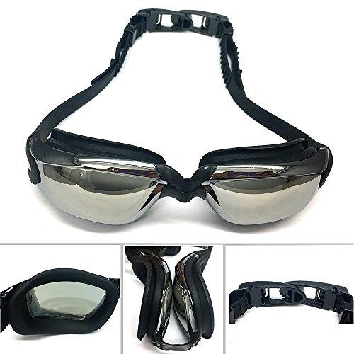IKING Swim Goggles - Gafas de Natación para Adultos, Hombres, Mujeres, Jóvenes, Niños, Protección UV, Tecnología antiniebla