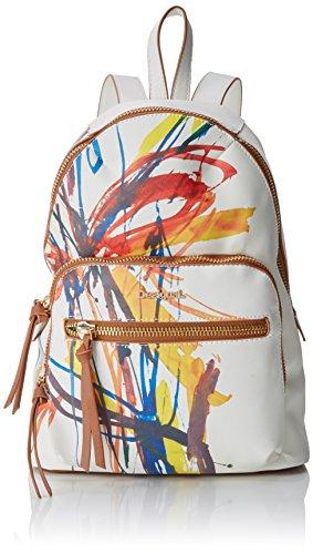 Desigual Bols_acid Ink Lima Mujer Bolsos mochila Blanco 11x34x25 cm (B x...