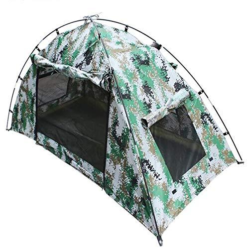 WXH Sac à Dos Tente Protection UV Auvent Camouflage Camping Single Storey Explorer Imperméable Léger Voyage Randonnée Quick Set Le Lieu idéal