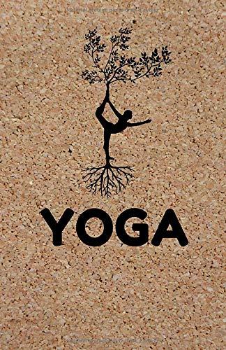 Yoga: Carnet de Notes Couverture Originale & Tendance - Idée Cadeau, Journal, Notebook, Bloc Notes - Format A5 - 160 Pages Lignées