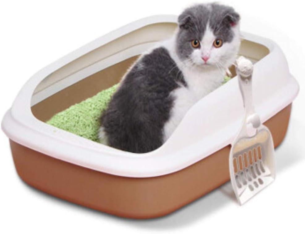 UWEKMQP Large cat Toilet Supplies Recommendation semi-Closed Spl Box Litter 40% OFF Cheap Sale