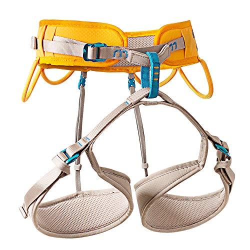 X XBEN Rock Climbing Harness, Professional Lightweight Mountaineering Climbing Gear for Women, Man, Safety Belt