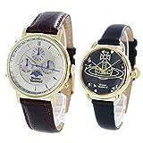ヴィヴィアン ウエストウッド VivienneWestwood ペアウォッチ 収納BOX レザー VV164CHBRVV163BKBK 腕時計 並行輸入品