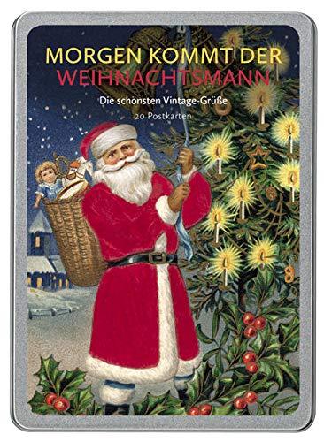 Morgen kommt der Weihnachtsmann: Die schönsten Vintage-Grüße