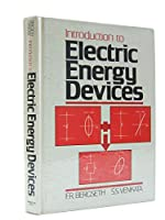 Introduction to Electric Energy Devices