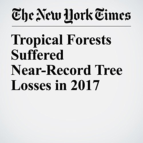Tropical Forests Suffered Near-Record Tree Losses in 2017 audiobook cover art