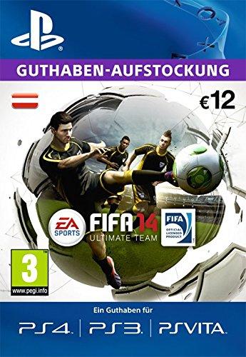 PSN  EA ultimate team Guthaben-Aufstockung 12 € [PSN Code für österreichisches Konto]