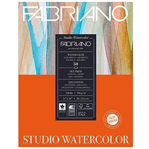 Fabriano Studio WC Pad 11X14 HP 300G 50 Shts