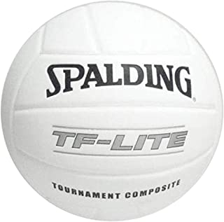 Spalding Volleyball TF-Lite Youth Practice/Training Volleyball Tournament Composite White