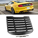 For 2015-2017 Mustang Rear Windshield Louver Cover Black Window Accent Sun Shade