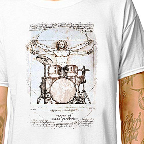 Gift Idea For Drummer Ludwig Drums Drummer/'s T-Shirt Grey SIZE XL//EXTRA LARGE