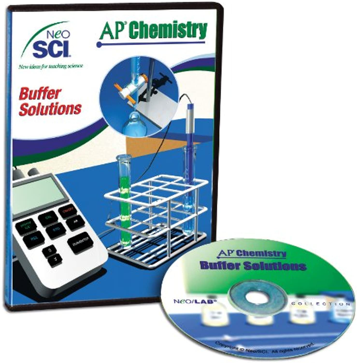 Neo SCI Buffer Solutions Neo LAB AP Chemistry Software, Individual License