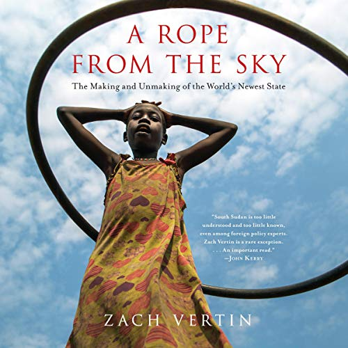 A Rope from the Sky audiobook cover art