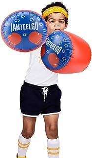 JanTeelGO Guantes de boxeo inflables para niños y niñas, guantes de boxeo, saco de boxeo MMA, guantes de boxeo, guantes de boxeo, guantes de boxeo para niños