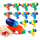 Coogam Water Gun 12 Pack – Stream 20+ feet Squirt Blaster Soaker Pistol Plastic Toys with Bright Color for Kid Child Boy Girl in Summer Swimming Pool Beach Party Favors Water Warfare Fighting Games