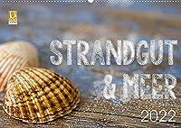 Strandgut und Meer 2022 (Wandkalender 2022 DIN A2 quer): Maritime Fundstuecke und Strandgut als stimmungsvolle Stillleben (Monatskalender, 14 Seiten )