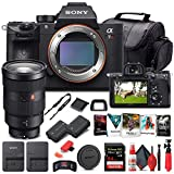 Sony Alpha a7R IV Mirrorless Digital Camera (Body Only) (ILCE7RM4/B) + Sony FE 24-70mm Lens + 64GB Memory Card + NP-FZ-100 Battery + Corel Photo Software + Case + External Charger + More (Renewed)