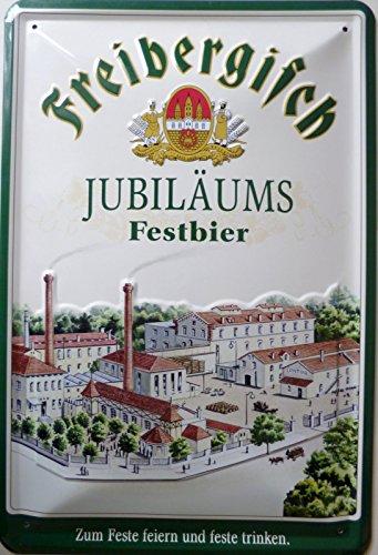 vielesguenstig-2013 Blechschild Schild 20x30cm - Freibergisch Jubiläums Festbier Brauerei Bier Freiberger