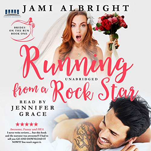 Running from a Rock Star audiobook cover art